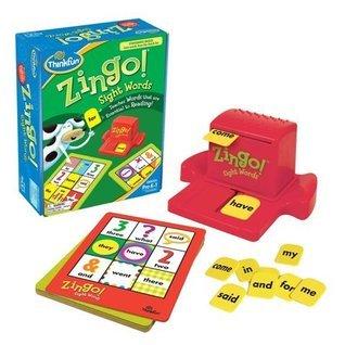 Zingo! Sight Words, Grades Pre-k-1  by  ThinkFun