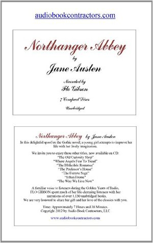 Northanger Abbey (Classic Books on CD Collection) [UNABRIDGED] Jane Austen