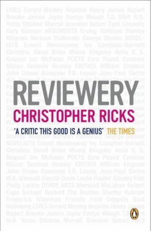 Reviewery Christopher Ricks