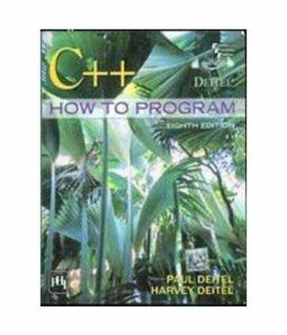 C++ How to Program, 8th Ed  by  Paul J. Deitel