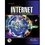 Internet : Sytems and Applications  by  Alec Fehl
