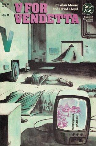 V for Vendetta #4 Alan Moore