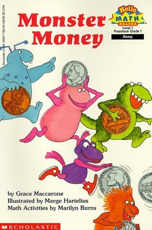 Monster Money (Hello Reader! Math Level 1) Grace Maccarone