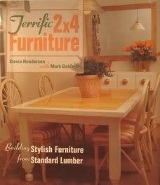 Terrific 2 X 4 Furniture  by  Stevie Henderson