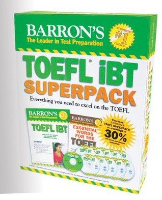 Barrons TOEFL Ibt Superpack, 2nd Edition  by  Pamela Sharpe