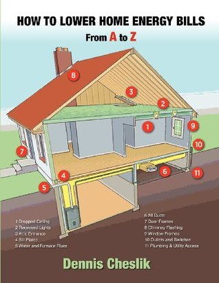 How to Lower Home Energy Bills: From A to Z: Easy to Use Illustrated Guide to Lower Home Energy Bills Dennis Cheslik