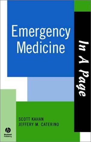 In A Page Emergency Medicine  by  Jeffery M. Caterino