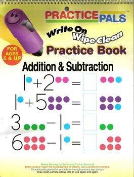 Practice Pals: Write On Wipe Clean Practice Book Greenbrier/ Scentex