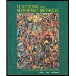 Functions and Algebraic Methods  by  Elizabeth Difanis Phillips