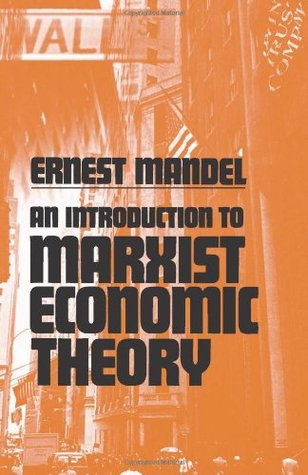 Formation of the Economic Thought of Karl Marx Ernest Mandel