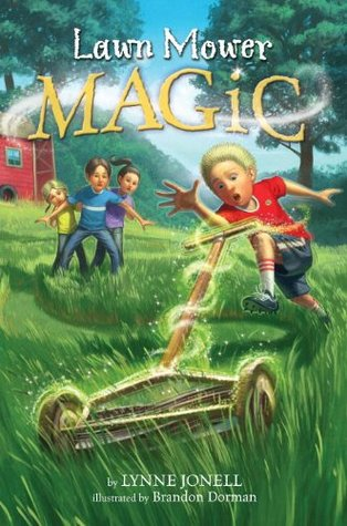 Lawn Mower Magic (A Stepping Stone Book)  by  Lynne Jonell