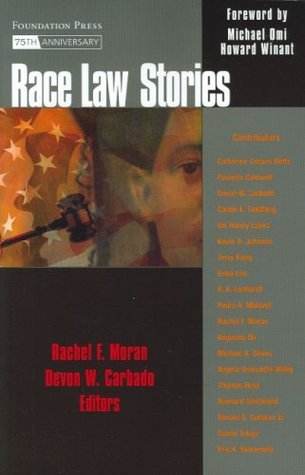Race Law Stories Rachel F. Moran