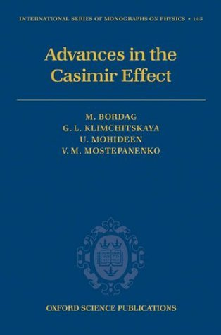 Advances in the Casimir Effect (International Series of Monographs on Physics)  by  Michael Bordag