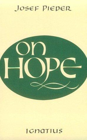 On Hope  by  Josef Pieper