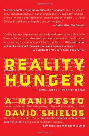 Reality Hunger David Shields
