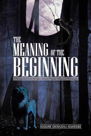 THE MEANING OF THE BEGINNING : A Perspective from an Igbo-African Popular Religious Philosophy  by  Isidore Okwudili Igwegbe