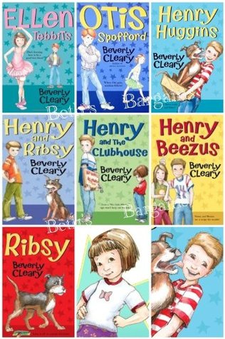 Children Book Sets (7) : Henry Huggins, Ottis Strapford, Ellen Tidbits, Henry & Ribsy, Henry and the Clubhouse, Henry & the Paper Route, Ribsy (Book Sets for Kids)  by  Beverly Cleary
