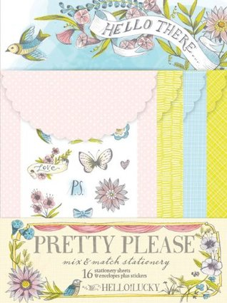 Pretty Please Mix & Match Stationery  by  Hello!Lucky by Eunice Moyle