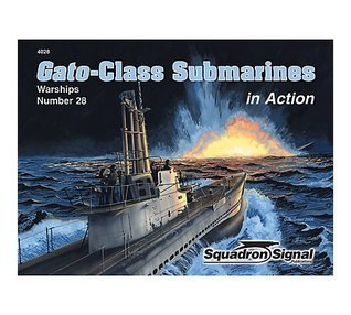 Gato-Class Submarines in Action - Warships No. 28  by  Robert C. Stern
