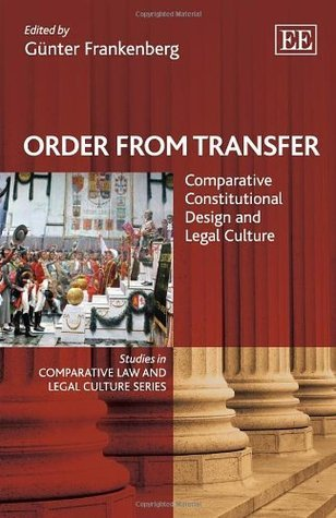 Order from Transfer: Comparative Constitutional Design and Legal Culture (Studies in Comparative Law and Legal Culture Series)  by  Günter Frankenberg