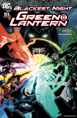 Green Lantern #51  by  Geoff Johns