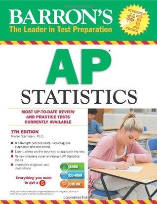 Barrons AP Statistics , 7th Edition [With CDROM] (Barrons AP Statistics  by  Marty Sternstein