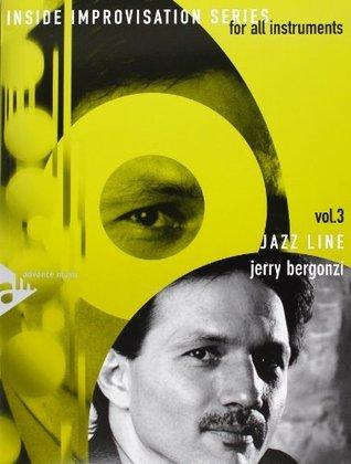 Bergonzi Jazz Line Book and CD Inside Improvisation Vol. 3 Jerry Bergonzi