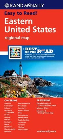 Rand McNally Eastern United States: Regional Map Rand McNally