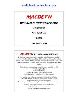 Macbeth (Classic Books on CD Collection) [UNABRIDGED] William Shakespeare