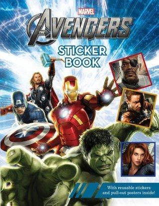 Avengers Sticker Book  by  Marvel Comics