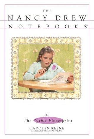 The Purple Fingerprint (Nancy Drew Notebooks)  by  Carolyn Keene