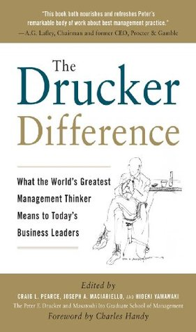 The Drucker Difference : What the Worlds Greatest Management Thinker Means to Todays Business Leaders Hideki Yamawaki