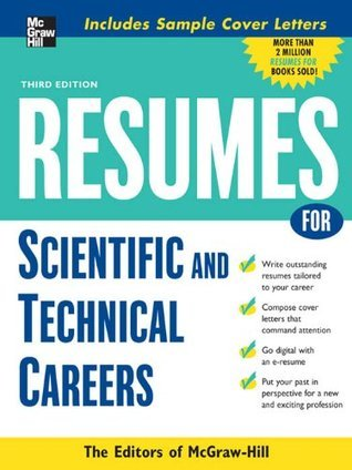Resumes for Scientific and Technical Careers (Professional Resumes Series) McGraw-Hill Publishing