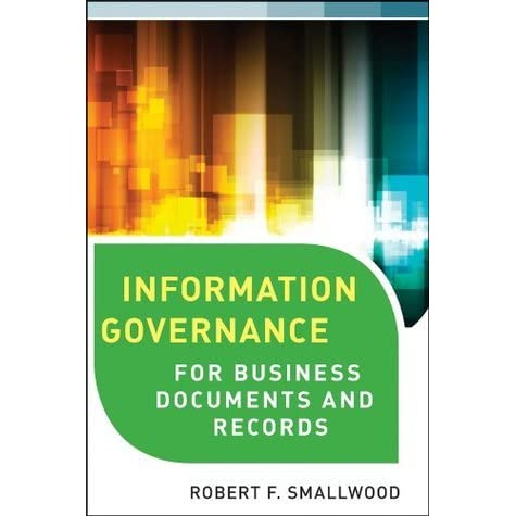 information governance concepts strategies and best practices pdf