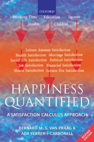 Happiness Quantified: A Satisfaction Calculus Approach Ada Ferrer-I-Carbonell