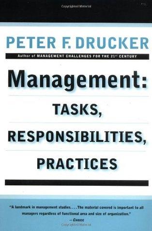 Management Peter F. Drucker