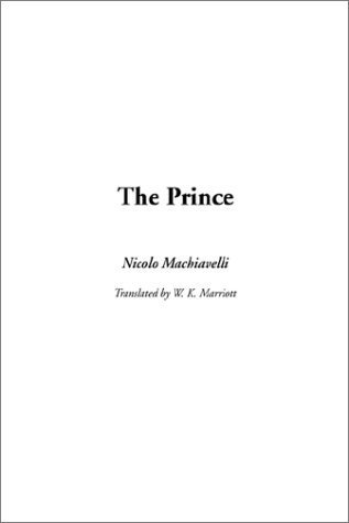 Prince, The Niccolò Machiavelli