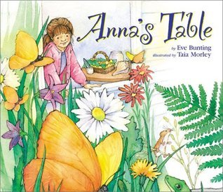 Annas Table  by  Eve Bunting