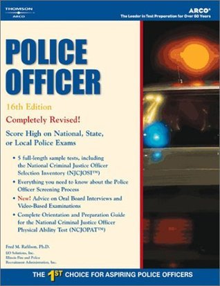 Master the Police Officer Exam, 16/e  by  Fred M. Rafilson