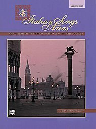 26 Italian Songs and Arias - Medium High Voice (Book/CD)  by  John Glenn Paton