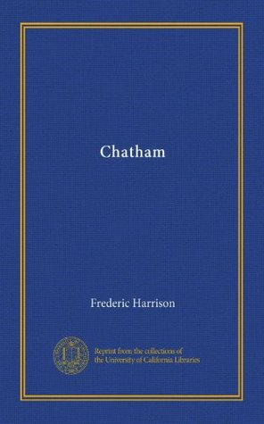 Chatham  by  Frederic Harrison