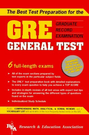 Gre General Test Research Educational Association