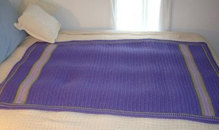 Easy-Breezy Crochet Throw  by  Patrice Walker