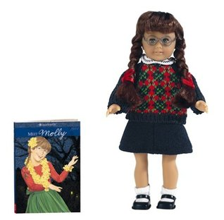 Molly Mini Doll (American Girl Book and Doll) American Girl