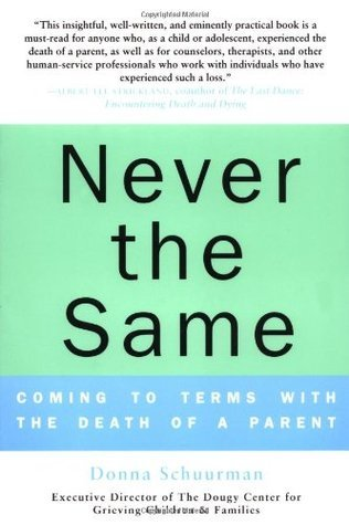 Never the Same: Coming to Terms with the Death of a Parent Donna Schuurman