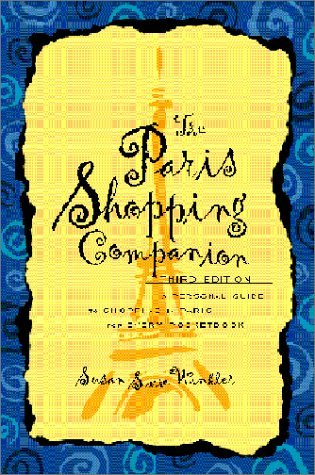 Paris Shopping Companion Susan Swire Winkler