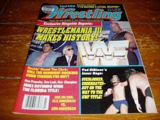 Inside Wrestling Magazine July 1987 Issue Stu Saks