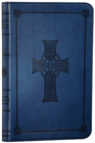 ESV Compact Bible, TruTone, Royal Blue, Celtic Cross Design, Red Letter Text  by  Anonymous