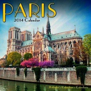 Paris 2014 Calendar NOT A BOOK