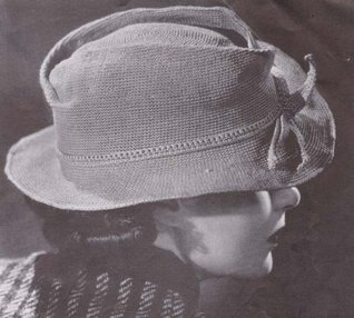 Fedora Cap Hat Vintage Crochet Pattern EBook Download  by  Unknown